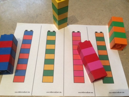 Series de 2 con lego duplo imprimible educadiver - Construcciones de lego para ninos ...